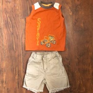 18-24 Months boys Gymboree short set